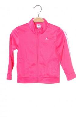 Bluza trening roz Domyos, 3 ani