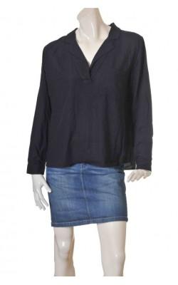 Bluza vascoza H&M L.o.g.g., bleumarin, marime 44