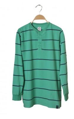 Bluza verde Cubus, bumbac, 14 ani