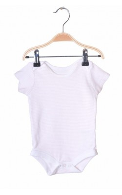 Body alb cu roz Tu, 6-9 luni