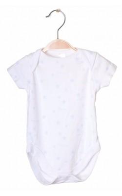Body alb cu stelute bleu Next, 3-6 luni, 8 kg