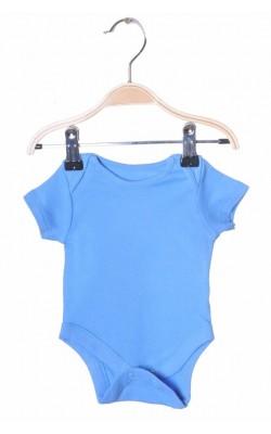 Body albastru F&F, 0-1 luni, 4.5 kg