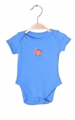 Body albastru George, 0-3 luni, 5.5 kg