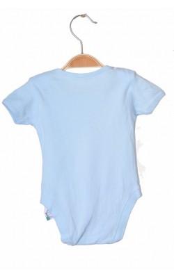 Body bleu cu imprimeu George, 3-6 luni, 8 kg