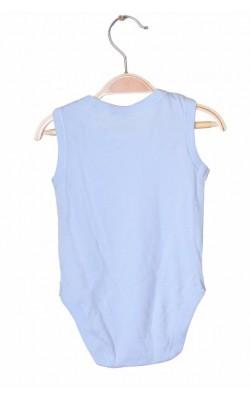 Body bleu fara maneci George, 3-6 luni, 8 kg