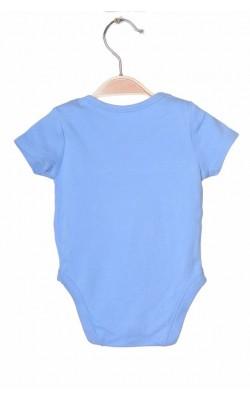 Body bleu George, 3-6 luni, 8 kg