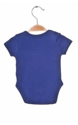 Body bleumarin cu imprimeu George, 0-3 luni