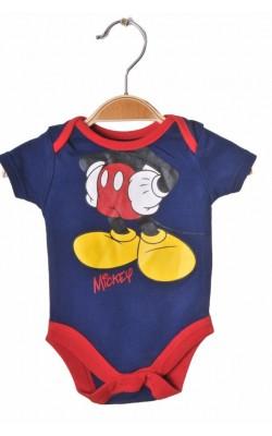 Body imprimeu Mickey by Disney, 0-3 luni