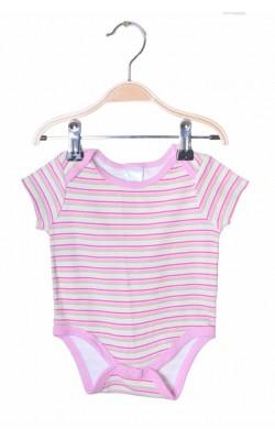 Body roz cu fistic Baby Gear, 6-9 luni