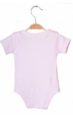 Body roz cu inimioare Tu, 1-3 luni