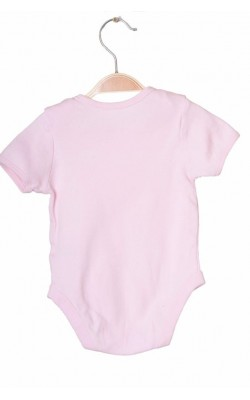 Body roz din bumbac F&F, 6-9 luni