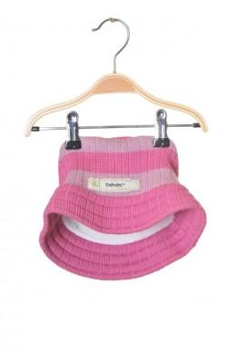 Caciula amestec lana Bavac, captuseala tricot, 8-9 ani