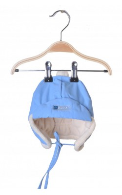 Caciula bleu vatuita Hufa, 9-12 luni