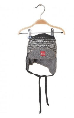 Caciula gri din lana merinos Ulvang, 2 ani