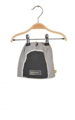 Caciula lana Bavac, fleece protectie urechi, 7-9 ani
