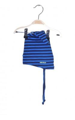 Caciula lana merinos Devold, tricot dublu strat, 1-2 ani
