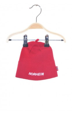 Caciula rosie lana Norheim, 3-6 ani