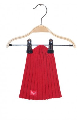Caciula rosie tricotata Missing Link, 2-4 ani