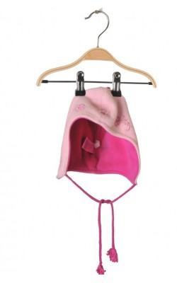 Caciula roz fleece H&M, 1-3 ani