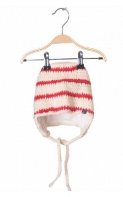 Caciula tricot lana captusit cu fleece Polarn O Pyret, 3-4 ani