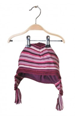 Caciula tricot si fleece, 2-3 ani