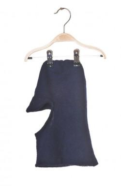 Cagula lana pura, culoare bleumarin, 4-8 ani