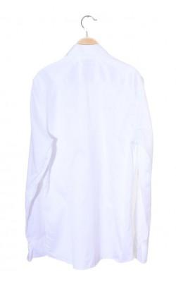 Camasa alba Cubus Premium cotton, slim fit, marime M