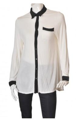 Camasa alba din jerseu Plus Collection by Ellos, marime 44