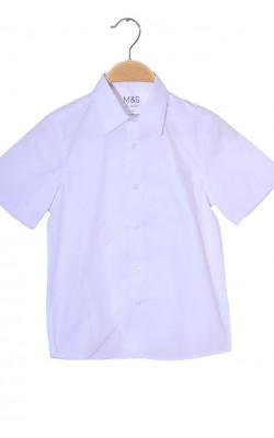 Camasa alba maneca scurta Marks&Spencer School, 8 ani