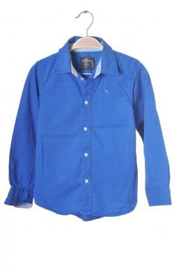 Camasa albastra H&M L.o.g.g., 7-8 ani