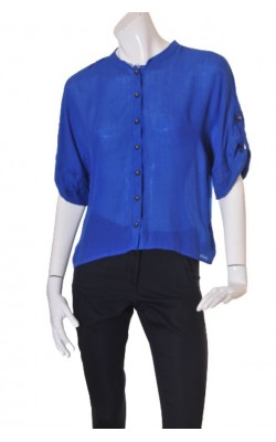 Camasa albastra supradimensionata Ichi by B.Young, marime M