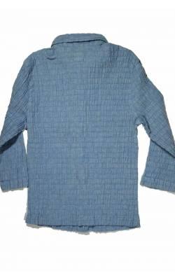 Camasa bleu bumbac creponat Lois, 6 ani