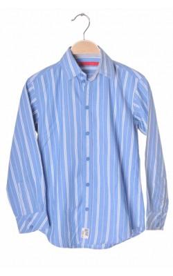 Camasa bleu cu dungi albe Esprit, 8-9 ani