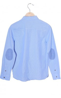 Camasa bleu cu dungi albe Zara, 9-10 ani