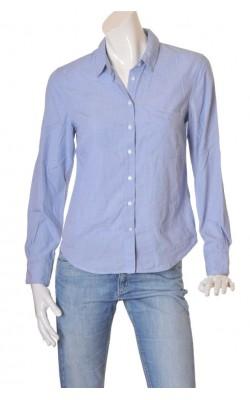 Camasa bleu din bumbac H&M L.o.g.g., marime 40