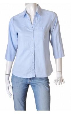Camasa bleu din bumbac H&M, marime 40