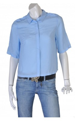 Camasa bleu din vascoza KappAhl, marime 42