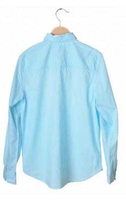 Camasa bleu H&M L.o.g.g., 13-14 ani