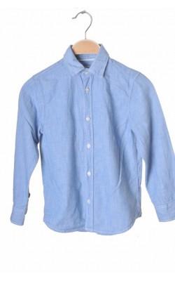 Camasa bleu H&M L.o.g.g., 6-7 ani
