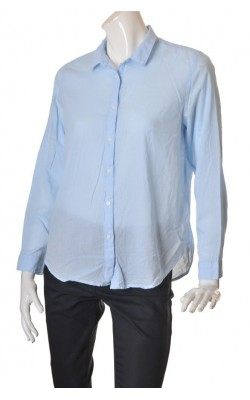 Camasa bleu H&M L.o.g.g., croi lejer, marime L