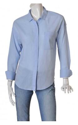 Camasa bleu Lindex, model lejer, marime 40
