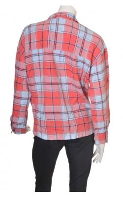 Camasa bumbac si in H&M L.o.g.g., marime XL
