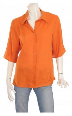 Camasa oranj de in Made in Italy, marime XL