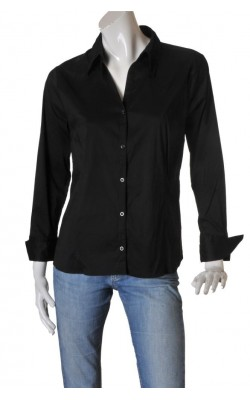 Camasa neagra cambrata H&M, marime 46