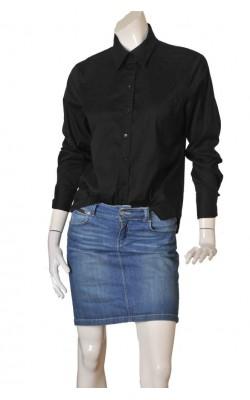 Camasa neagra cambrata H&M, marime L