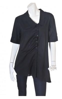 Camasa neagra asimetrica JSFN by Ellos, marime 44