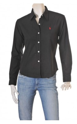 Camasa neagra Ralph Lauren, blaire cotton, marime 40