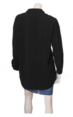 Camasa neagra supradimensionata Weekday, marime L