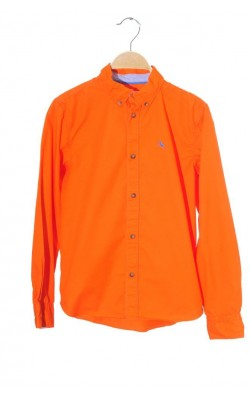 Camasa oranj H&M L.o.g.g., 11-12 ani