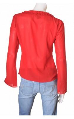 Camasa rosie guler plisat Vero Moda, marime XL